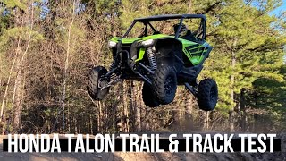 HONDA TALON 1000R TRACK AND TRAIL First Ride BVC OFFROAD