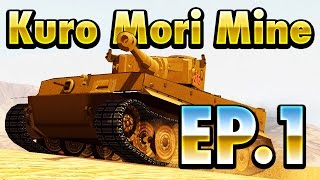 Kuro Mori Mine Mission (highlights) Ep.1 ||World of tanks blitz||