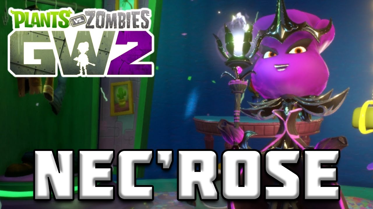 FRONTLINE FIGHTERS NEC'ROSE GAMEPLAY - Plants vs Zombies ...