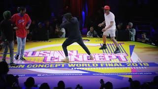 Baixar Kaio & Lord finesse VS Boy Mijo & Baby snoop | Clashs | Fusion concept world final 2018