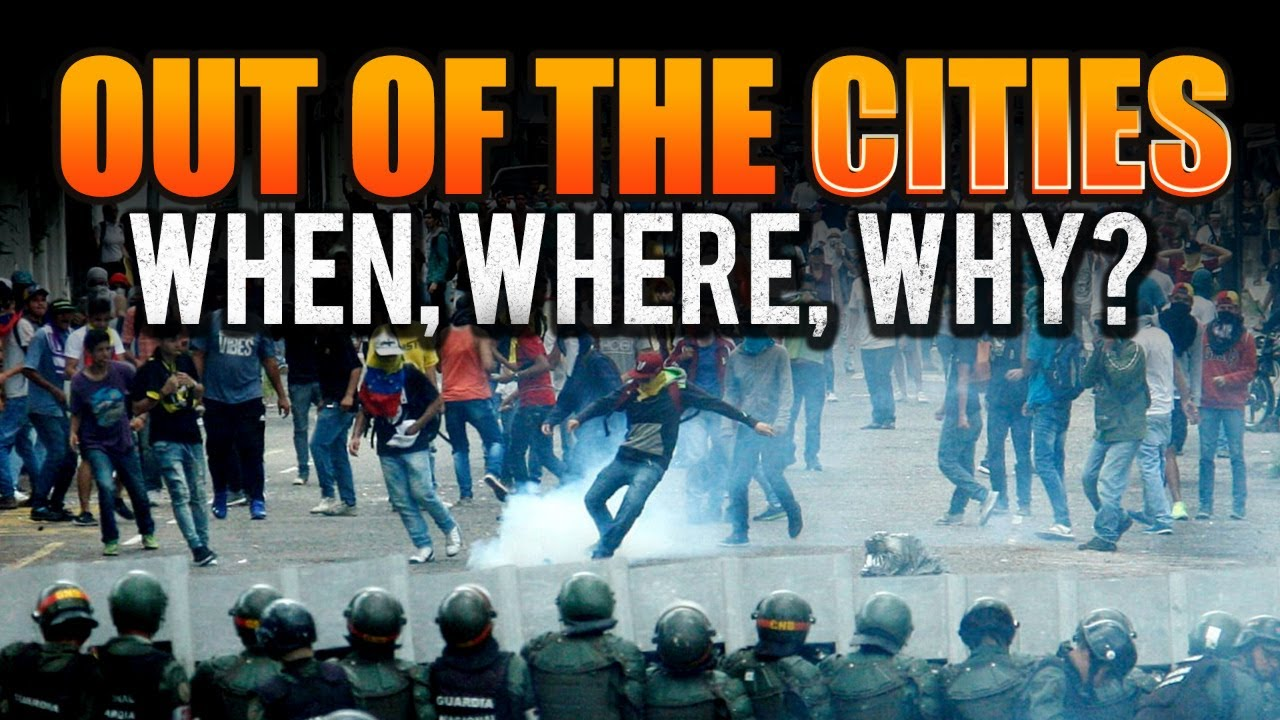 Out of the Cities: When, Where, Why?