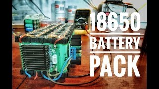4s 18650 battery pack test