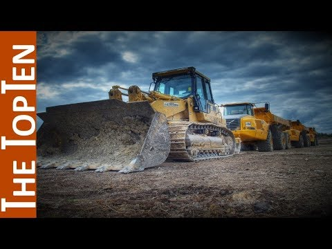 The Top Ten Largest Construction Equipment Manufacturers in 2017