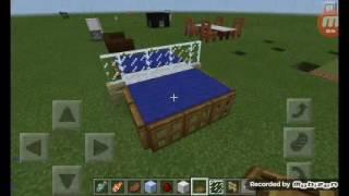 Como fazer uma mesa de pingpong(MINECRAFT PE)