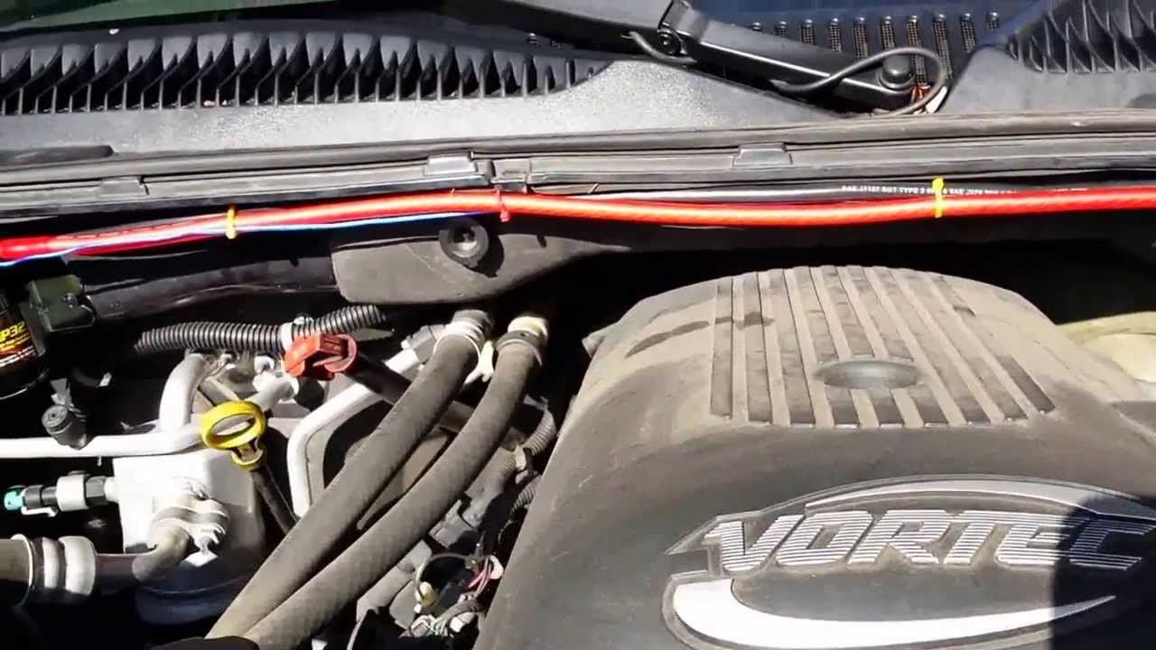 maxresdefault dual battery setup in a 05 chevy suburban mp4 youtube  at bakdesigns.co