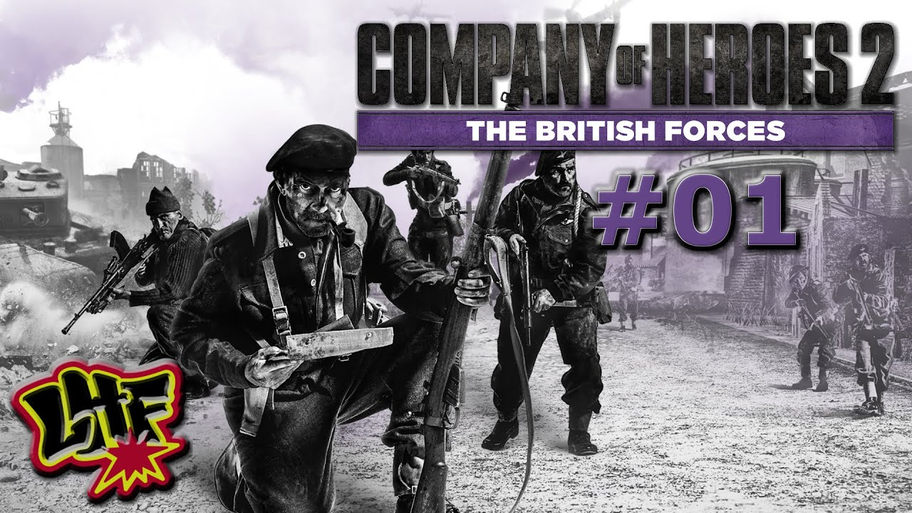 Company Of Heroes 2: The British Forces Gameplay - - YouTube
