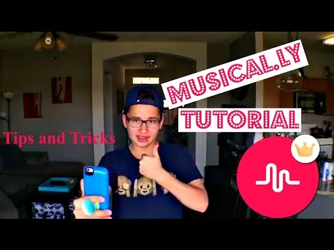 musical.ly Tutorial - Tips and Tricks | Anthony Minajj