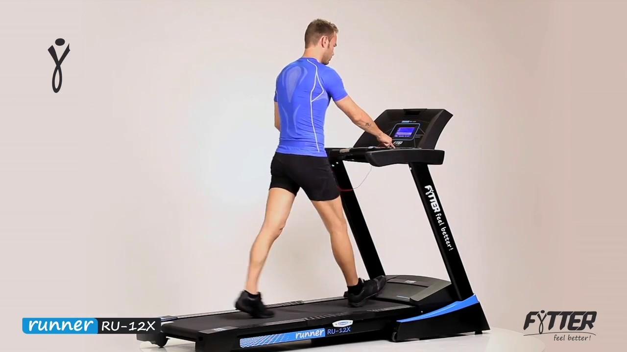 Fytter Runner Ru 12x Tapis De Course Tool Fitness Youtube