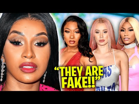 Cardi B SPEAKS On Why She Will Never Support Other Female Rappers