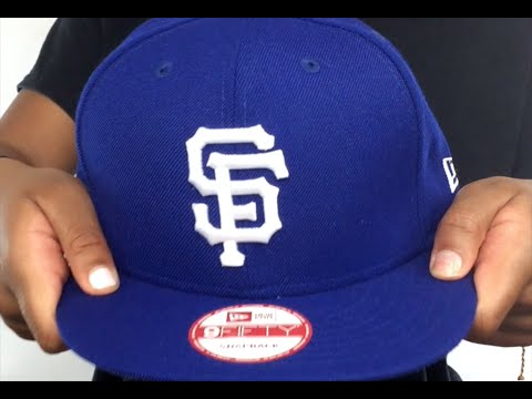 cheap for discount 71ff6 eb33c SF Giants  TEAM-BASIC SNAPBACK  Royal-White Hat by New Era