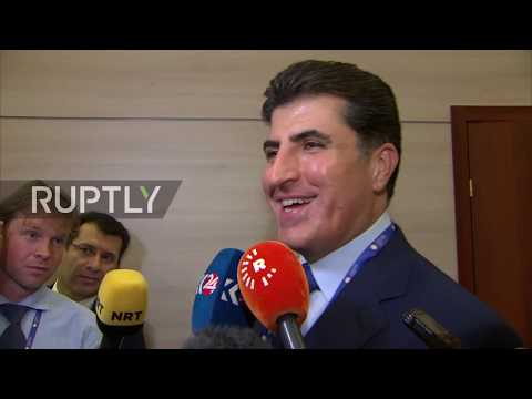 Russia: Kurdish PM Barzani to expand relations with Russia
