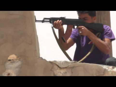 Battle of Galaa/Sofit Hill - Rebel tries to take out sniper