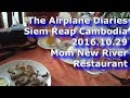 siem reap eating frogs at mom new river restaurant