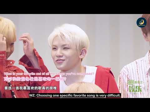 [ENG SUB] 180927 IQIYI SEVENTEEN Interview By EightMoonSubs