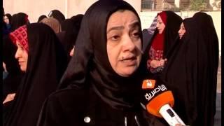 تقرير تلفزيوني:موظفو المصارف في ذي قار ينظمون وقفة احتجاجية ضد سلم الرواتب