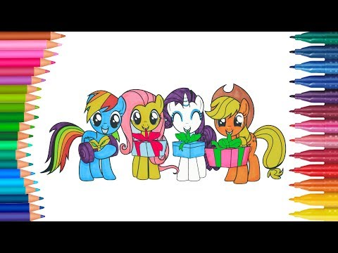 Repeat Mein Kleines Pony My Little Pony Deutsch Ausmalbilder