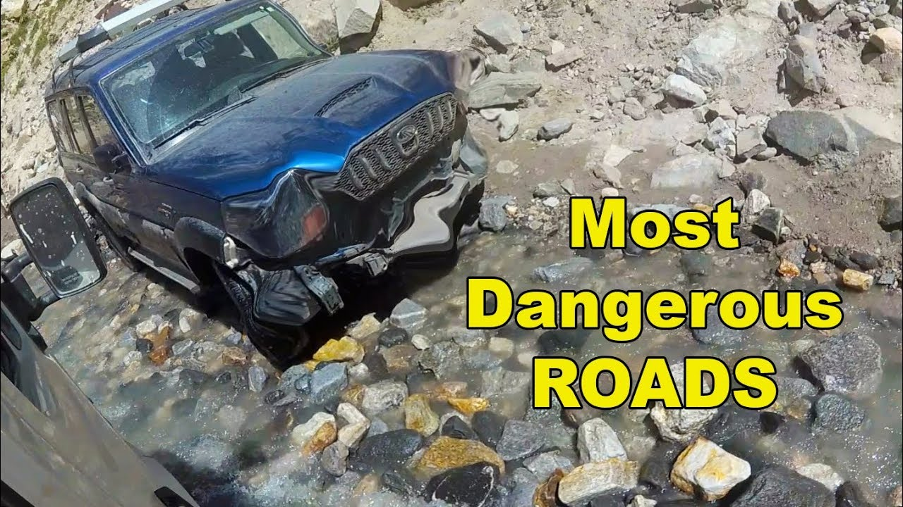 Most Dangerous Roads in the World - SPITI | Chandratal ...