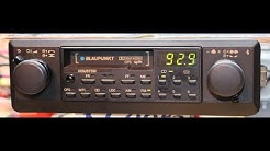 Blaupunkt Houston Car Stereo , Vintage Car Audio 1984