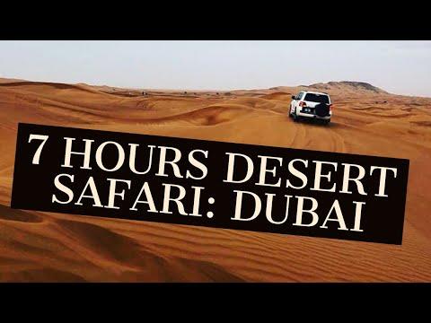 7 hours Desert Safari Experience: Dubai | SandBOARDING | Camel Riding|BellyDancing|BBQ Dinner Buffet