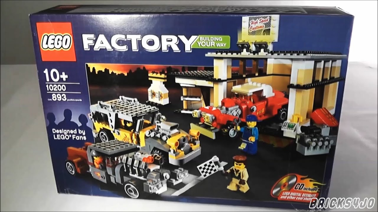 LEGO 10200 Factory Custom Car Garage - Review deutsch -