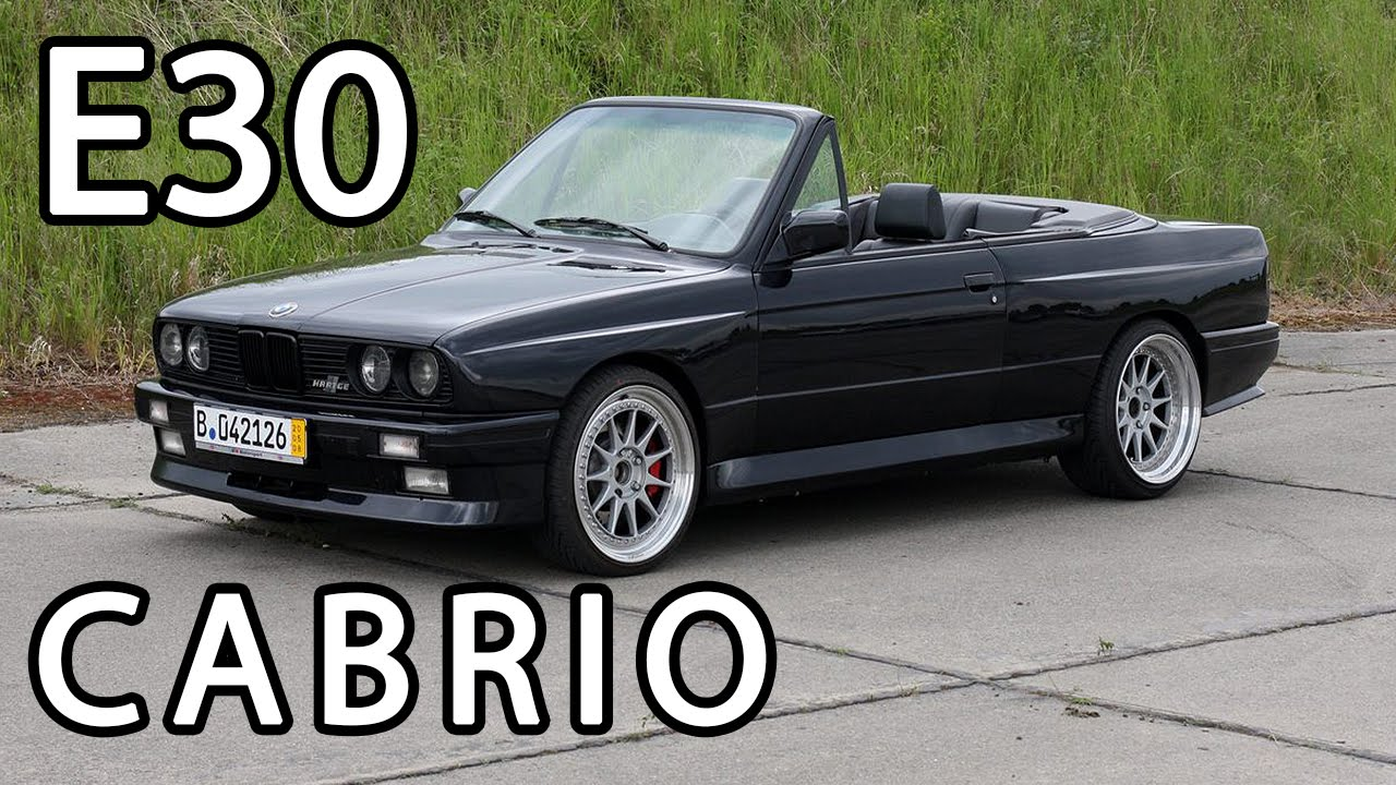 e30 bmw cabrio youtube. Black Bedroom Furniture Sets. Home Design Ideas