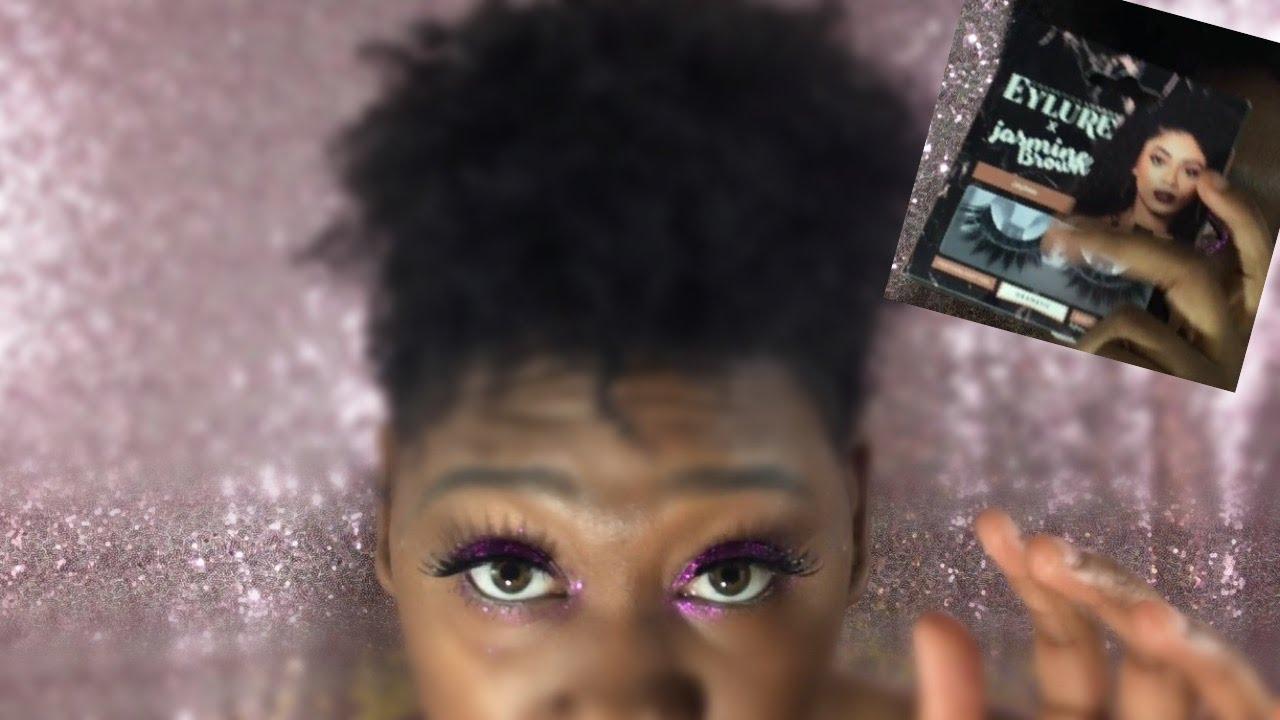 6fc75cf9189 JASMINE BROWN x EYLURE COSMETICS EYELASH REVIEW - YouTube