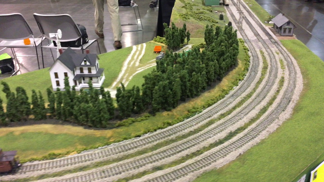 National Train Show Orlando Fl Atlanta Interlocking Model Railroaders Layout Walkaround