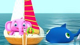 моряк вышел в море | детские стишки | веселая музыка для детей | ребенок рифмы | Sailor Went To Sea