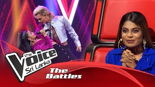The Battles : Prithvi Akash V Savindi Thalagala | Adare Hithenawa | The Voice Sri Lanka Thumbnail
