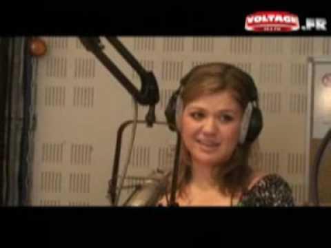Voltage FM France Interview Kelly Clarkson 02 27 09 Paris