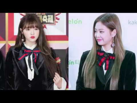 170106 Oh My Girl's stylist copying off Black Pink Jennie's outfits make fans angry!