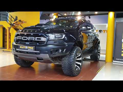 This New Ford Endeavour Is Brutally Modified|Exterior,Interior&Driving Video|Ceramic Coating