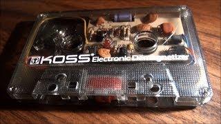 KOSS Cassette Tape Head Electronic Demagnetizer KED/1