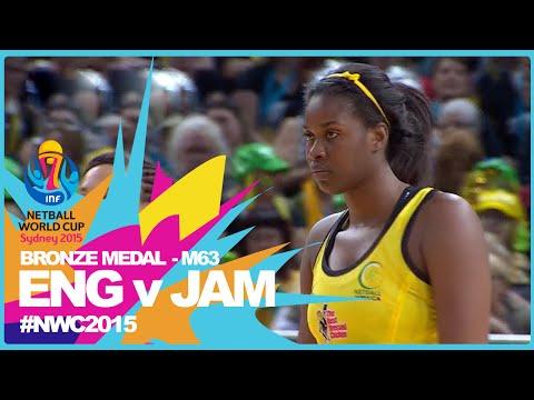 NWC15 I England v Jamaica I Bronze