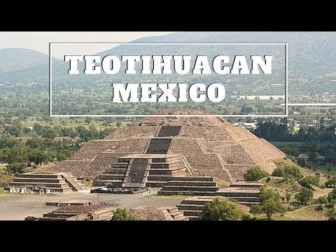 TEOTIHUACAN: Pre-Aztec Ruins, Northeast of Mexico City