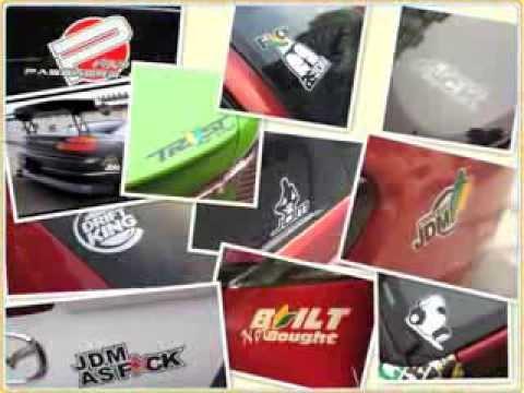 JDM Drift Decals Stickers Australia