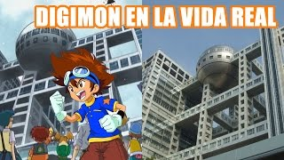 Digimon Adventure places in real life - Lugares de Digimon Adventure en la vida real