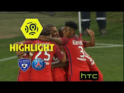 SC Bastia - Paris Saint-Germain (0-1) - Highlights - (SCB - PARIS) / 2016-17