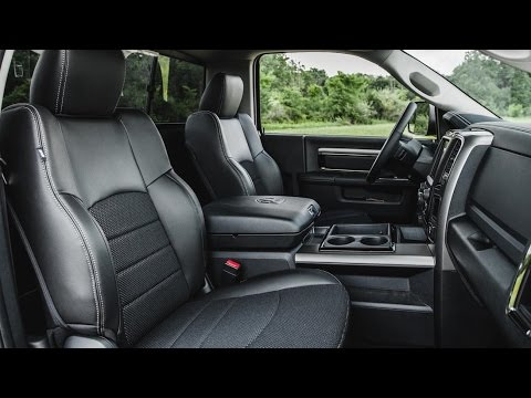 Awesome RAM   2015 RAM 1500 Interior Nice Look