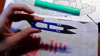Вышивка крестиком: детская метрика для девочки