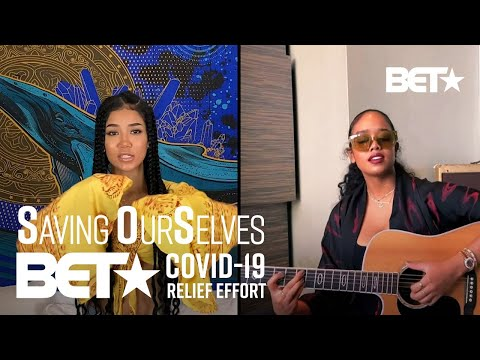 """Jhene Aiko And H.E.R. Serenade Us With Performance Of """"B.S."""" 