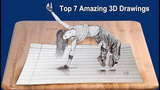 Top 7 Best 3D Drawing - Kaif Sketch