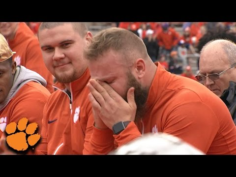Ben Boulware's Emotional Speech At Clemson's National Championship Celebration