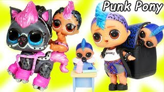 LOL SURPRISE Glitterati Custom Punk Pet Series 4 Fun Glam Glitter Toys Dolls for Kids | ToyEggVideos