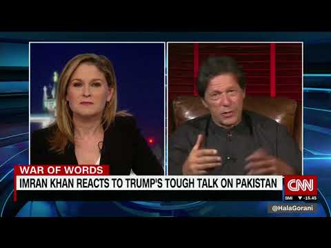 Chairman PTI Imran Khan Exclusive Interview on CNN The World Right Now with Hala Gorani (24.08.17)