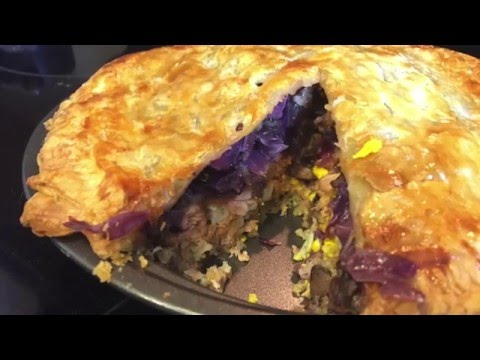 02 - Alaska - Russian Salmon Pie - United States of Thanksgiving