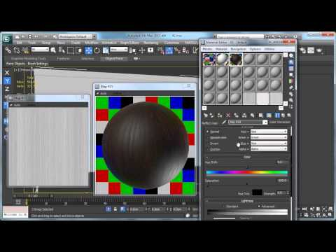 Producing The Wood Material In 3Ds Max