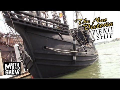 Real Life Pirate Ship - Nao Victoria - Saint Augustine - Matts Rad Show