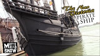 Real Life Pirate Ship - Nao Victoria - Saint Augustine - Matts Rad Show