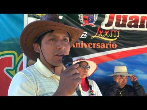 INAUGURACIÓN DE FERIA PARTE I - DISTRITO DE JUAN ESPINOZA MEDRANO